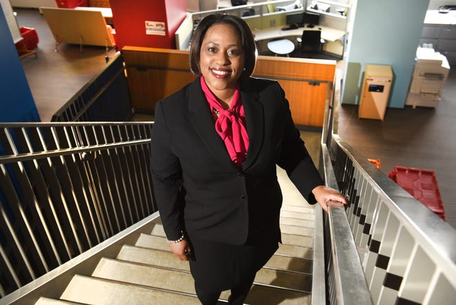 Darienne Driver, CEO of United Way for Southeastern Michigan, at the downtown Detroit offices.
