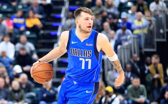 Luka Doncic of the Dallas Mavericks appears to have NBA Rookie of the Year honors locked up.