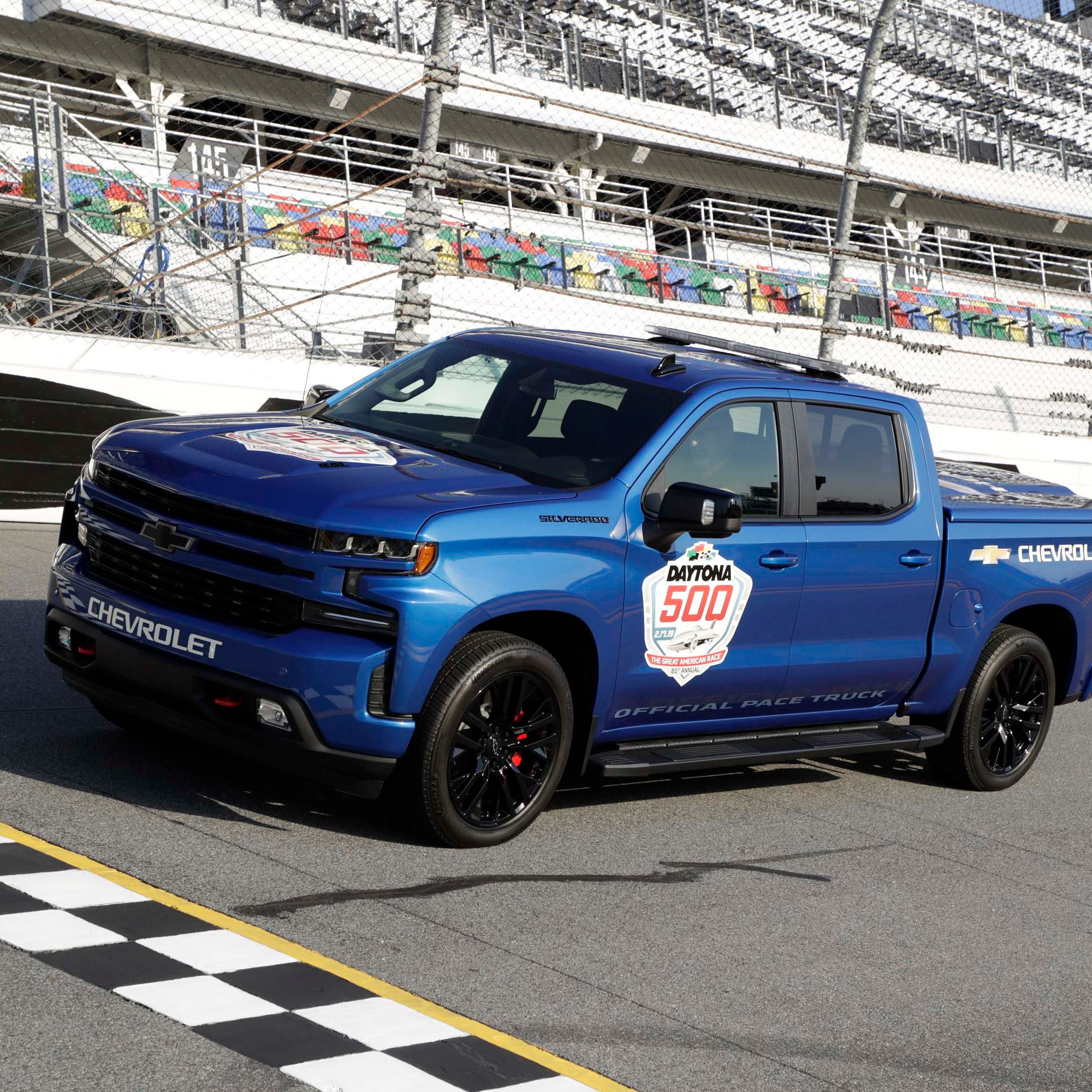 First-ever Silverado pace-truck leads Daytona 500