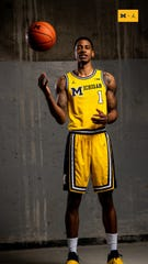 895041eb08b6 Michigan basketball to wear 1989 throwback uniforms against Michigan ...