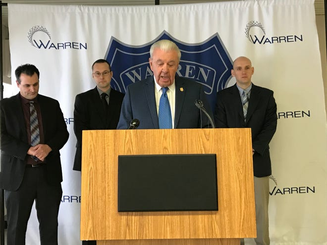 Warren Police Commissioner Bill Dwyer discusses the arrest in a fatal hit-and-run crash that killed a 60-year-old man.
