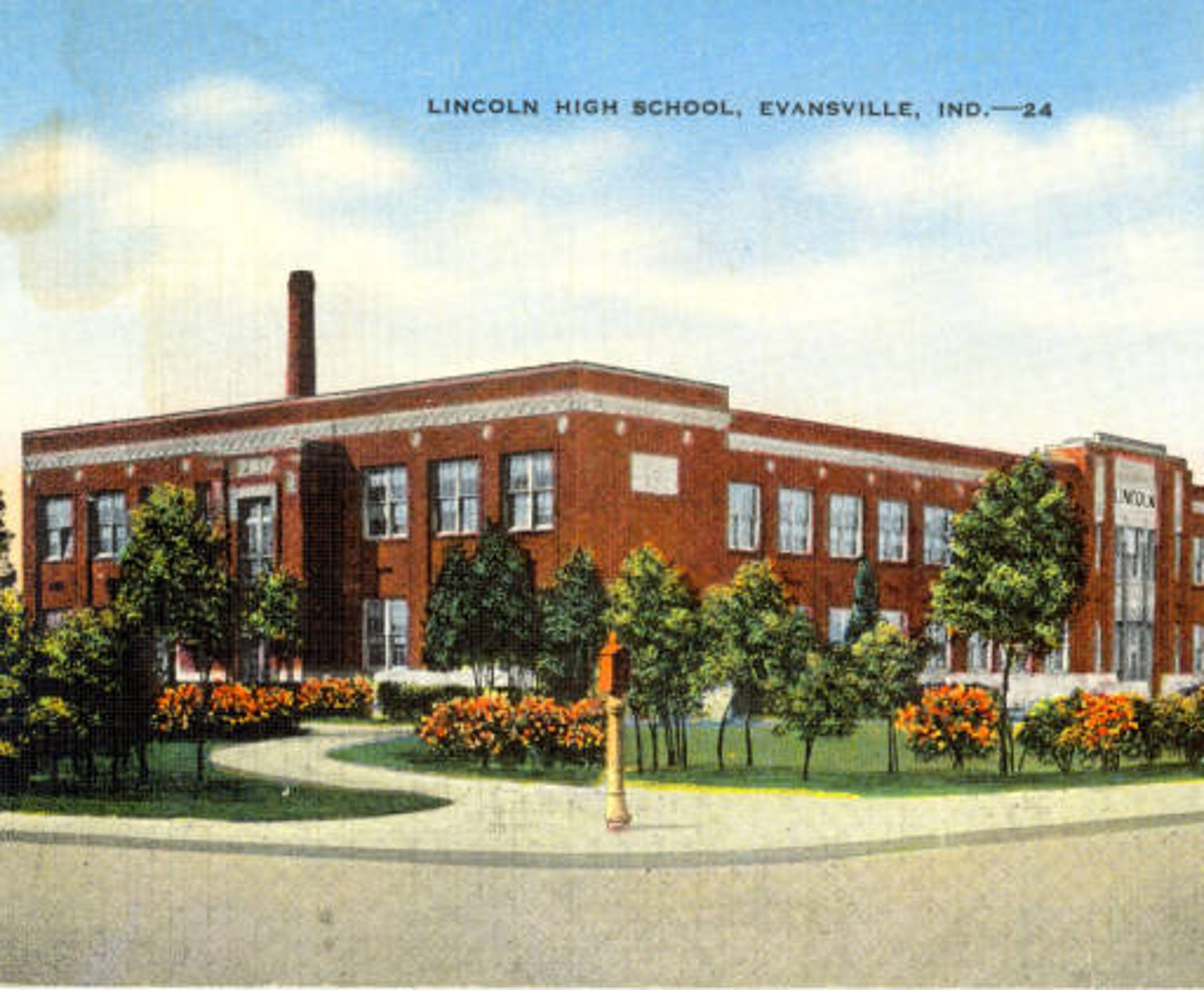 Lincoln was built in 1928 and closed as a high school in 1962. It now functions as Lincoln Elementary school.