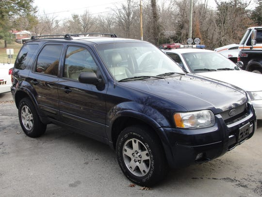 Wilbur Pate's 2004 Ford Escape was abandoned in Kentucky.