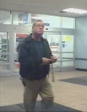 Video showed Wilbur Pate leaving his job in Owensboro on Nov. 14, 2012, the day he was last seen.