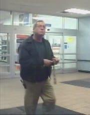 Video showed Wilbur Pate leaving his job in Owensboro on Nov. 14, 2012, the day he was last seen.