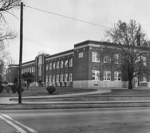 Lincoln High School, April 16, 1962.
