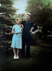Connie and Howard Norlin during World War II.
