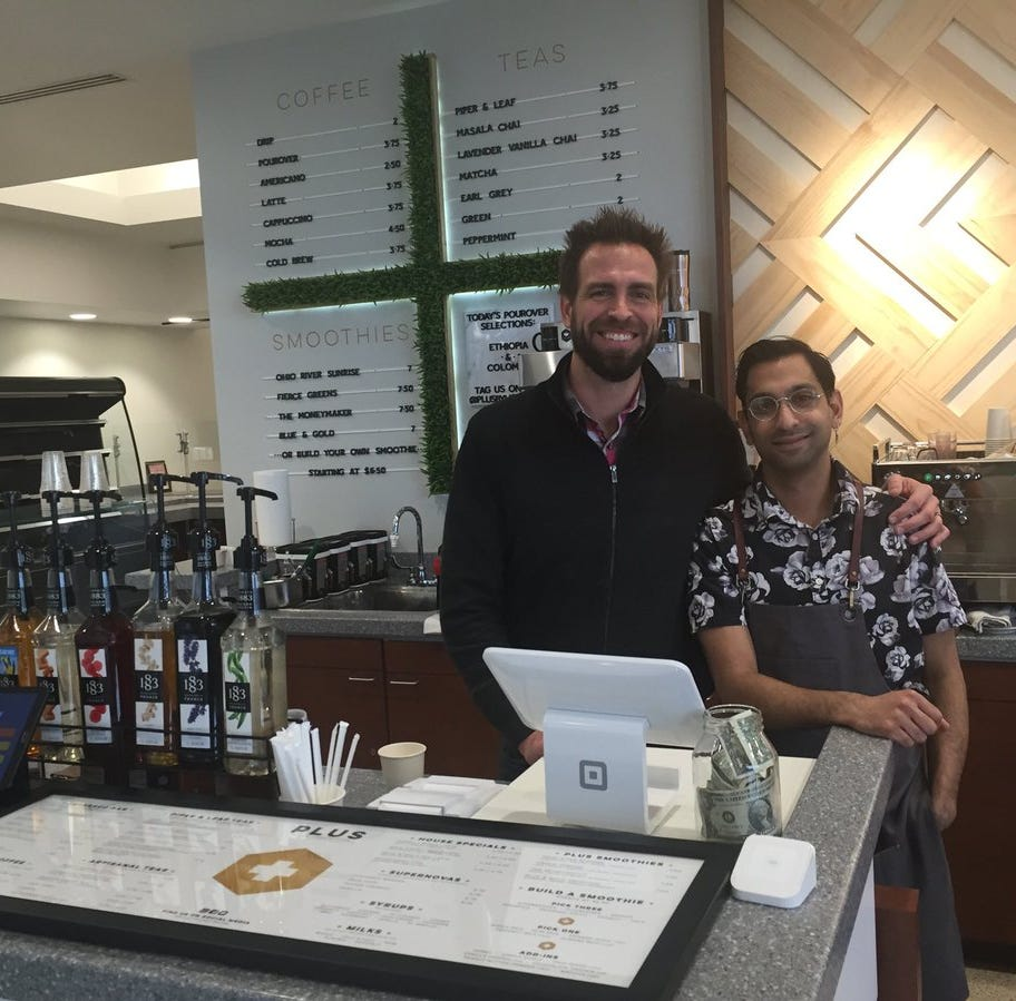 PLUS by Honey Moon opens in Old National lobby Downtown
