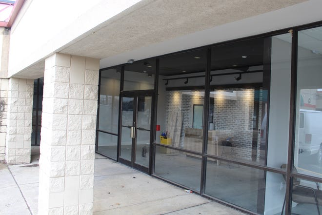 Fremont's medical marijuana dispensary is still under construction and could open in the near future. The dispensary is at 1800 E. State St. in the Applewood Village Plaza.