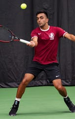 Florida State junior Rana-Roop Singh Bhullar holds an impressive 12-4 record in singles play this season.