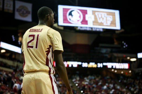 Senior center Christ Koumadje had a career-high performance during FSU's victory over Wake Forest on Wednesday night at the Tucker Center.