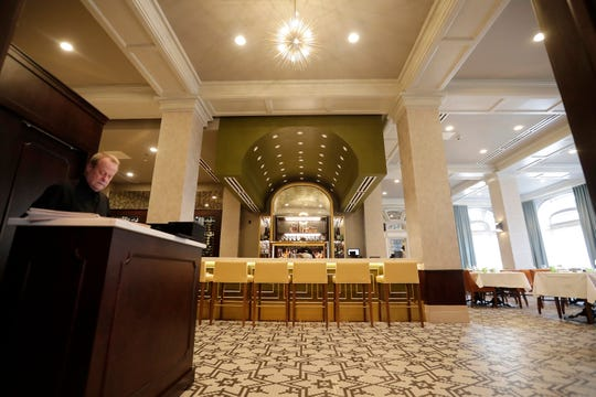 The Walnut Room at the Hotel Northland is shown on Feb. 14, 2019, in Green Bay, Wis.