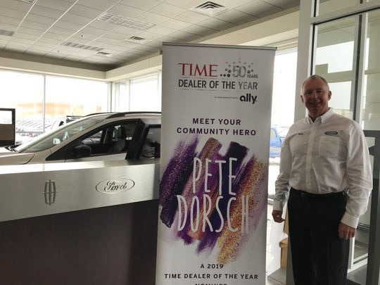 Pete Dorsch was named a nominee for the 2019 Time Dealer of the Year Award. He was one of 50 nominees out of more than 16,500 auto dealerships in the U.S.
