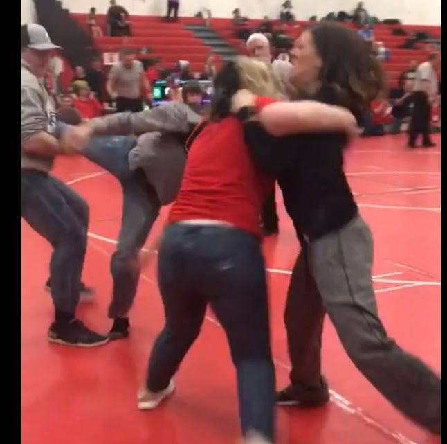 Wrestling brawl at Wisconsin high school shows how unruly parents take toll on kids