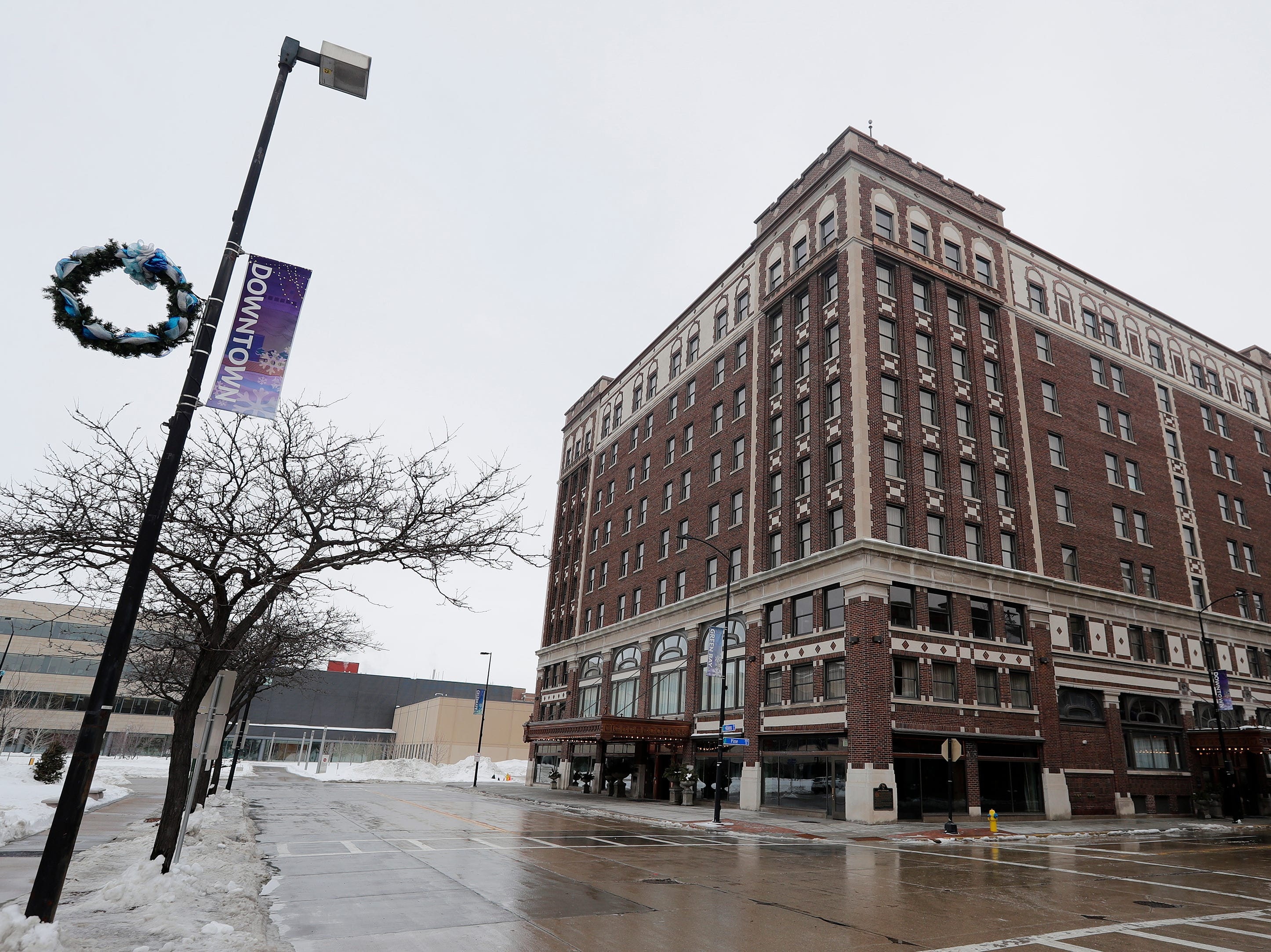 The Hotel Northland is shown on Thursday, February 14, 2019 in Green Bay, Wis.