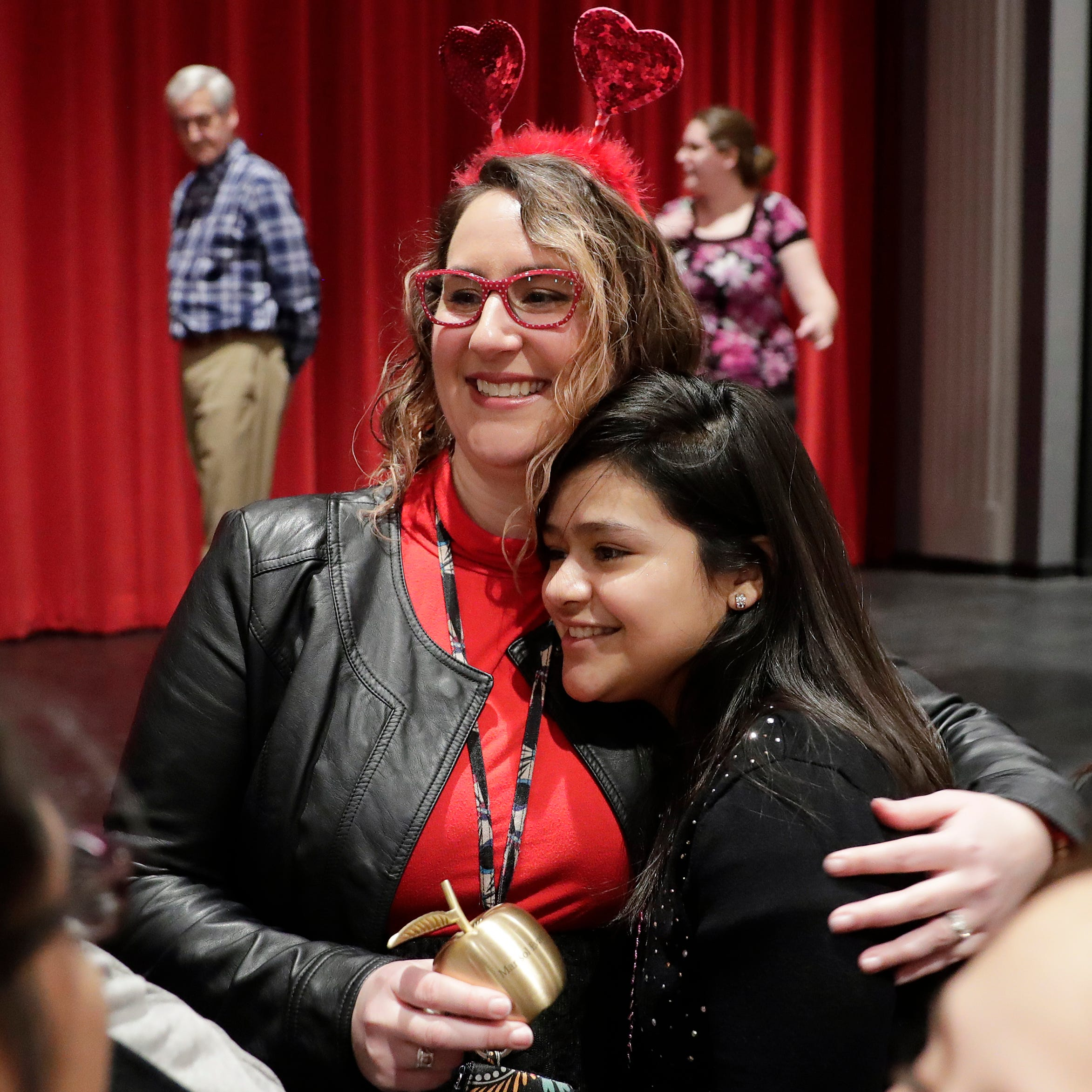 Green Bay School District's Marisol Evans awarded Golden Apple Award