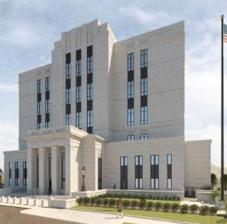No more brick: Here's how the new downtown Greenville federal courthouse will look