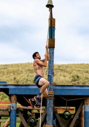 "Greenville's Chris Underwood competes on ""Survivor: Edge of Extinction."""