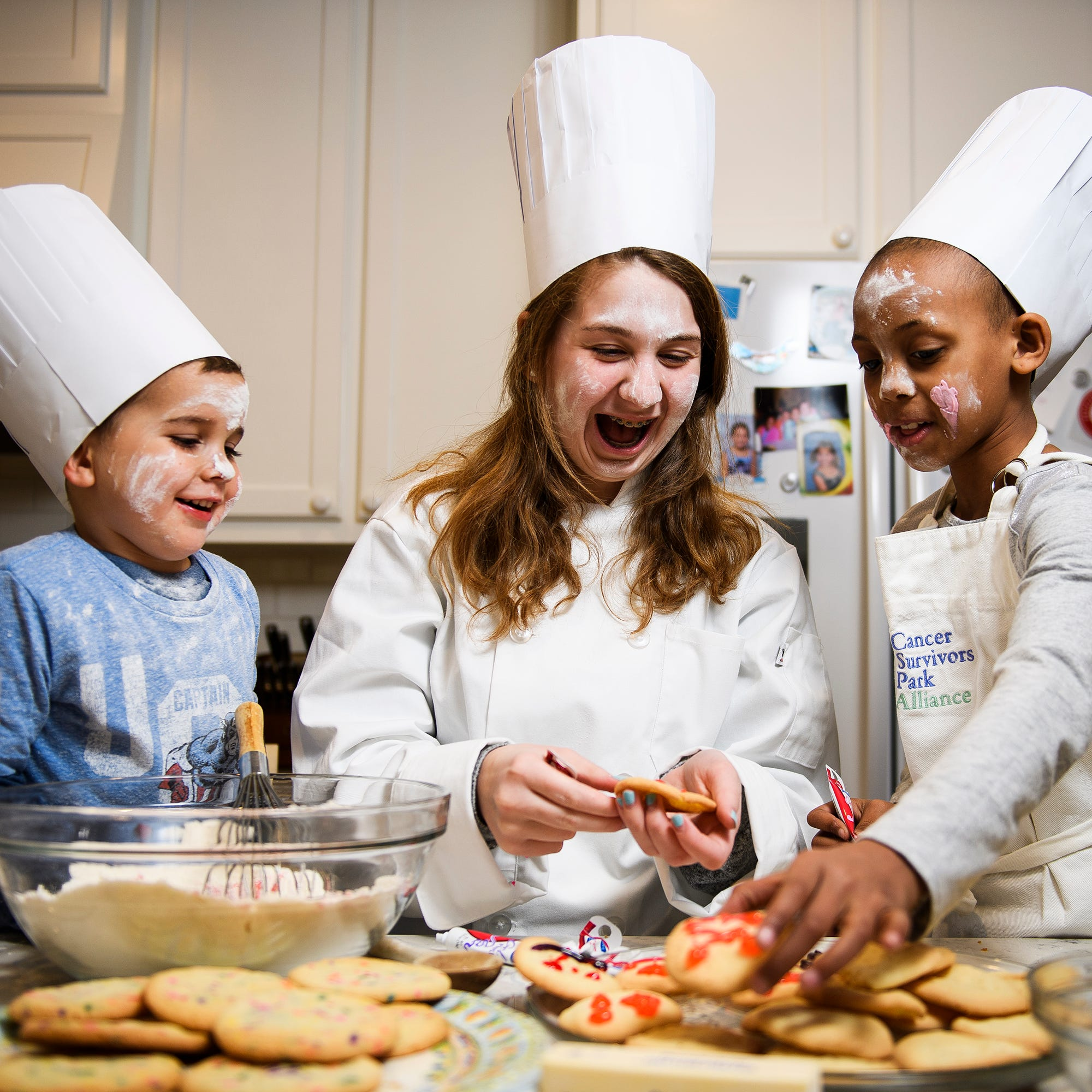 Meet 3 childhood cancer survivors who will add a new ingredient to CHOP! Cancer cook-off