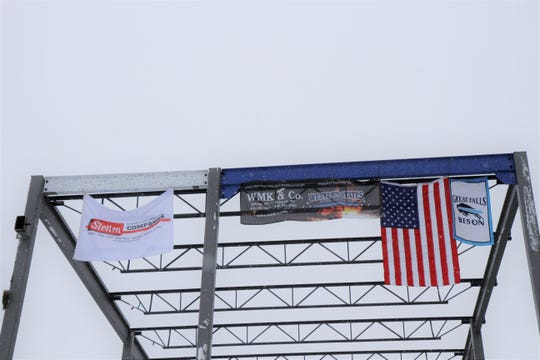 """On Wednesday, GFH hosted their """"Topping Out"""" ceremony on their sophomore lot."""