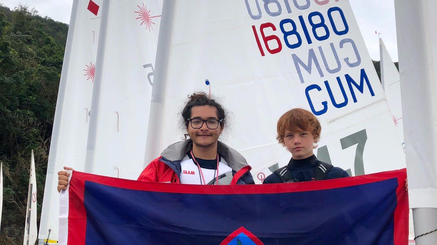 Guam teen competing in Hong Kong sailing event