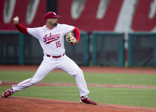 FILE – IU pitcher Pauly Milto will be a key part of the Hoosiers' starting rotation in 2019.