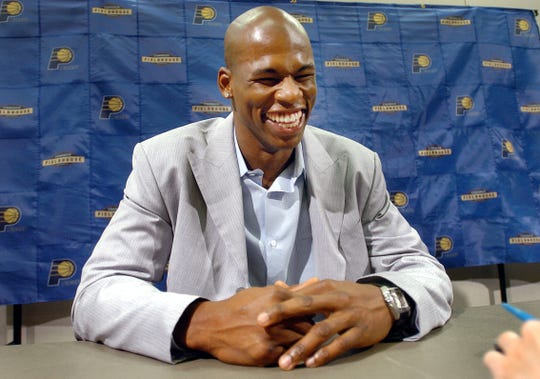 The Indiana Pacers welcomed back former Pacer Al Harrington with a four-year deal in 2000.
