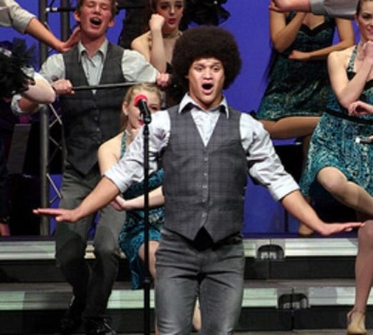 Elijah Mahan is the dance captain of his show choir at Roncalli High School.