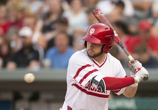 FILE – Matt Lloyd hit nine home runs and drove in 41 runs for the Hoosiers last season.