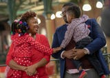 In a brief ceremony, Mayor Joe Hogsett presided over a Valentine's Day vow renewal at Downtown Indianapolis' city market on Thursday, Feb. 14, 2019.