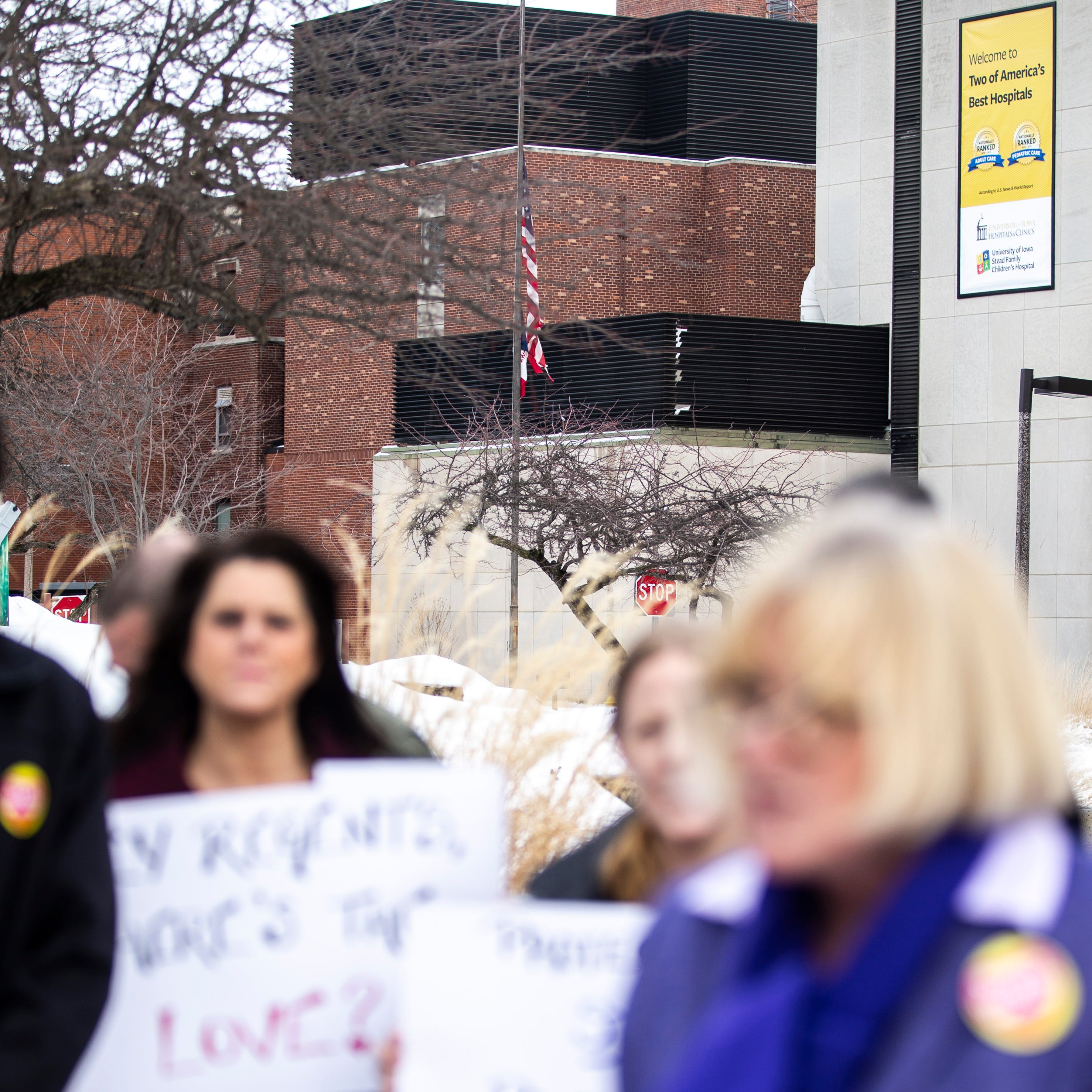 University of Iowa nurses approve new contract after tense negotiation