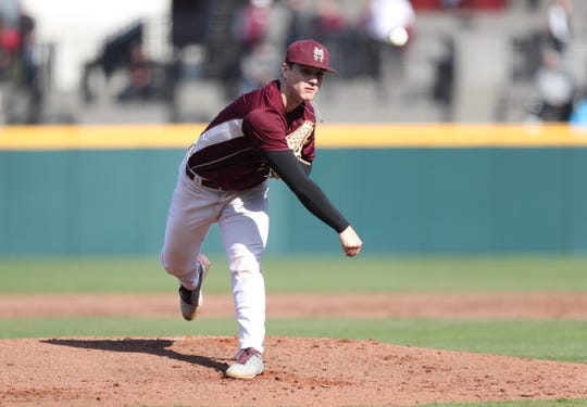 Mississippi State freshman pitcher J.T. Ginn has a fastball that reaches upward of 100 miles per hour. Ginn should be a vital part of the Bulldogs' pitching rotation all season.