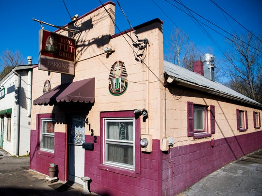 King Tut Grill stands on Martin Mill Pike in South Knoxville on Wednesday, February 13, 2019. Owner Seham Girgis says she will have to close the iconic restaurant if she cannot find a way to comply with KUB's grease control program.