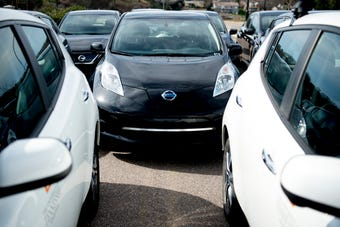 Preston Jacobsen, UT sustainability manager, talks about the school's fleet of 11 Nissan Leaf's and its goal of becoming a carbon neutral campus.