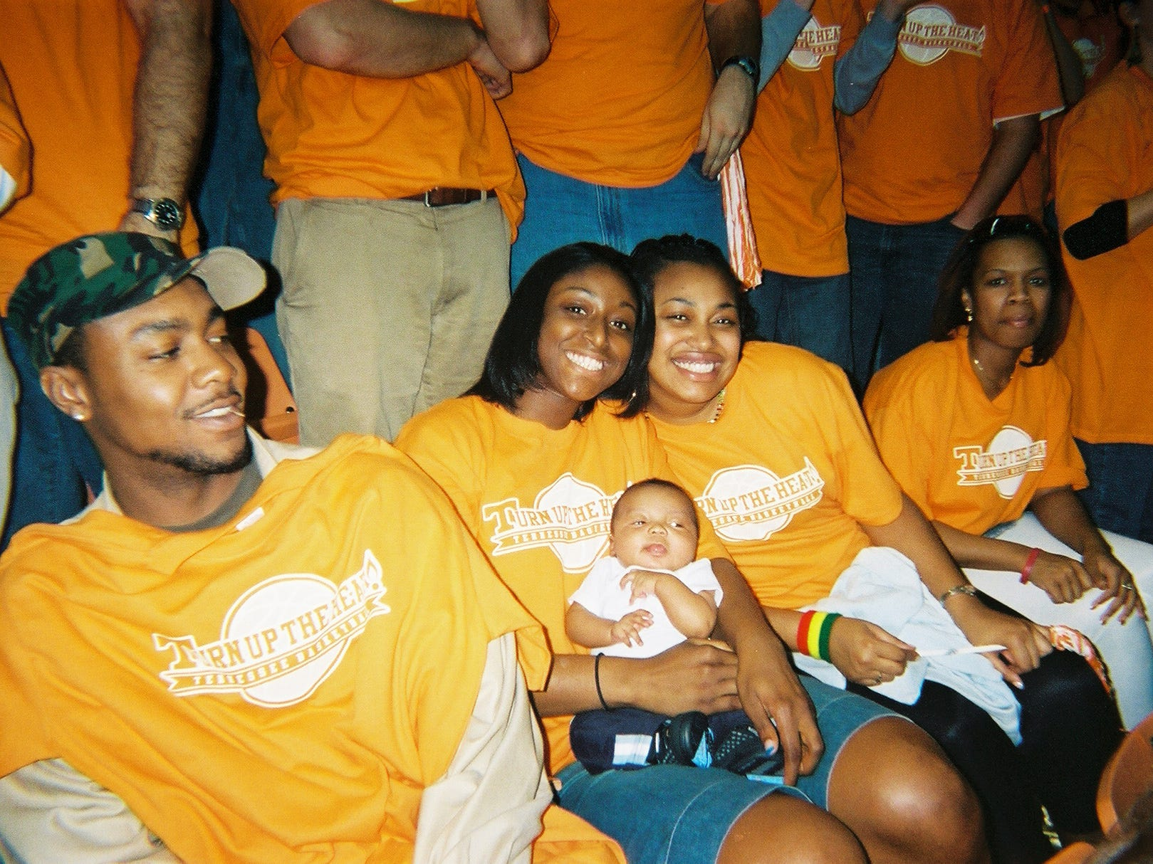Disposable camera photographs by fans from the Kentucky-Tennessee basketball game on Wednesday, March 1, at Thompson-Boling Arena.