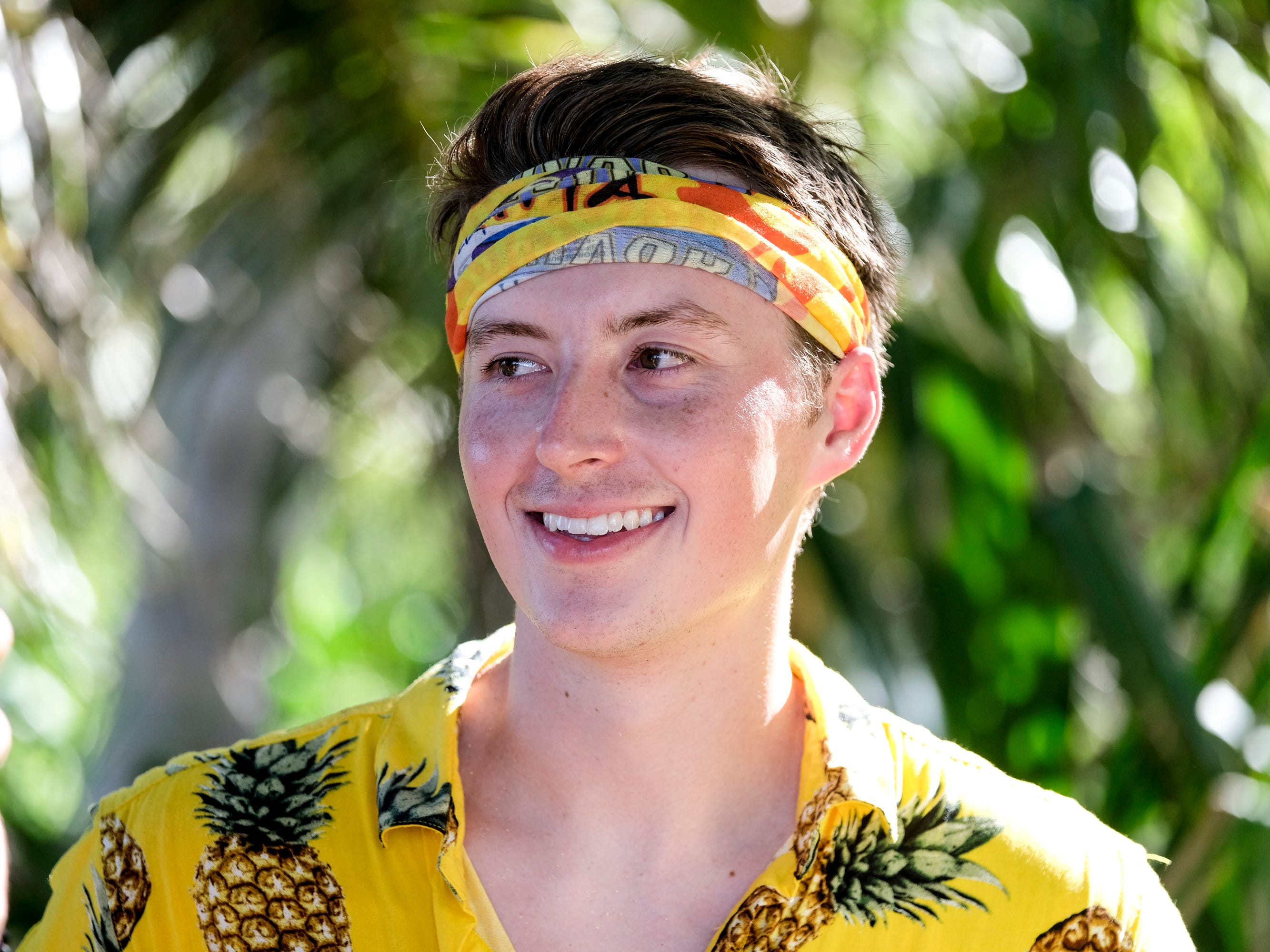 "East Tennessee's Gavin Whitson competes on ""Survivor: Edge of Extinction."""