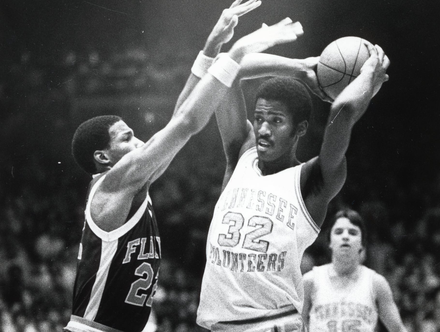 Tennessee's Reggie Johnson during a game in February 1980.