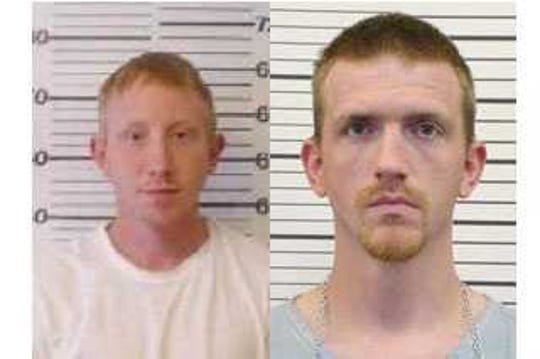 Attorneys for Adam Braseel, left, serving a life sentence for murder, say eyewitnesses mistook him for Kermit Bryson, right, a felon who died after killing a police officer in 2008.
