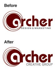 Archer Creative Group rebranded as it targeted new larger clients and expanded its services.