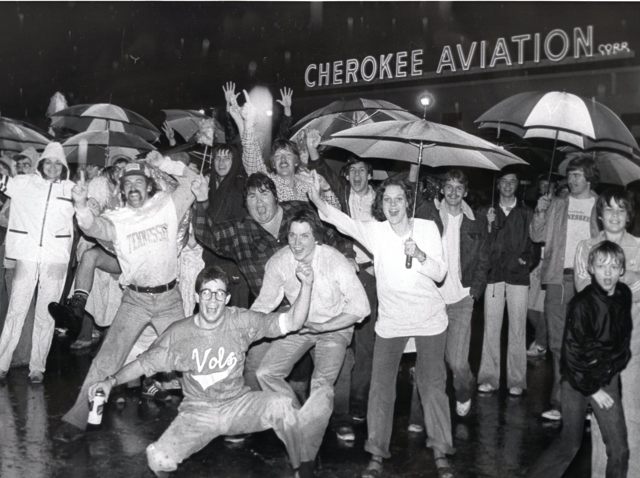 Tennessee basketball fans in March 1979.
