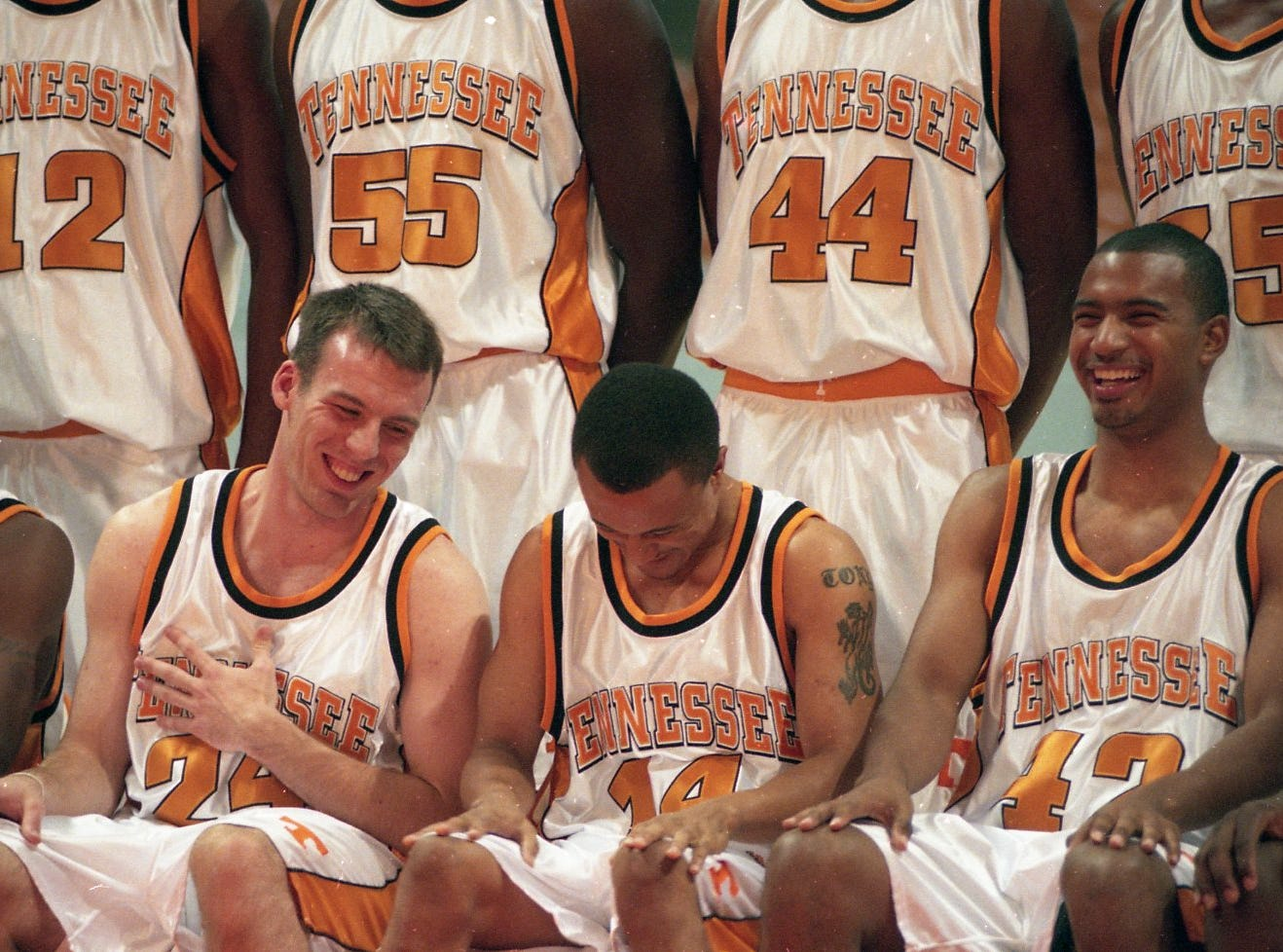 Tennessee media day in October 1999.