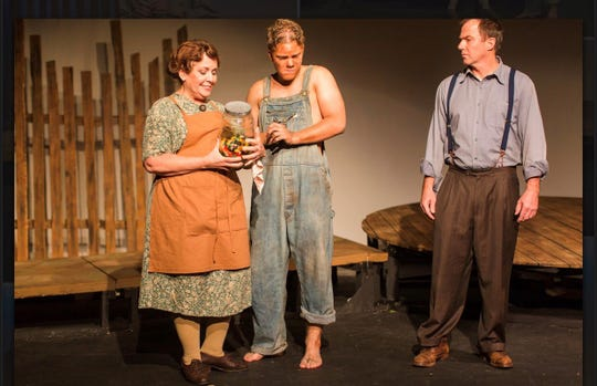 """The Diviners,"" a Depression-era drama, presented by the Wetumpka Depot Players of Alabama."