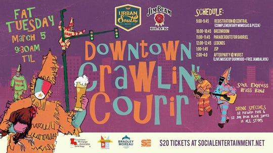 Downtown Crawlin Courir