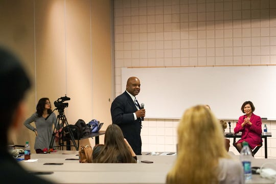 James Carter, vice chair of the UL System Board of Supervisors, was essential in bringing Loida Lewis to speak at the University of Louisiana at Lafayette.
