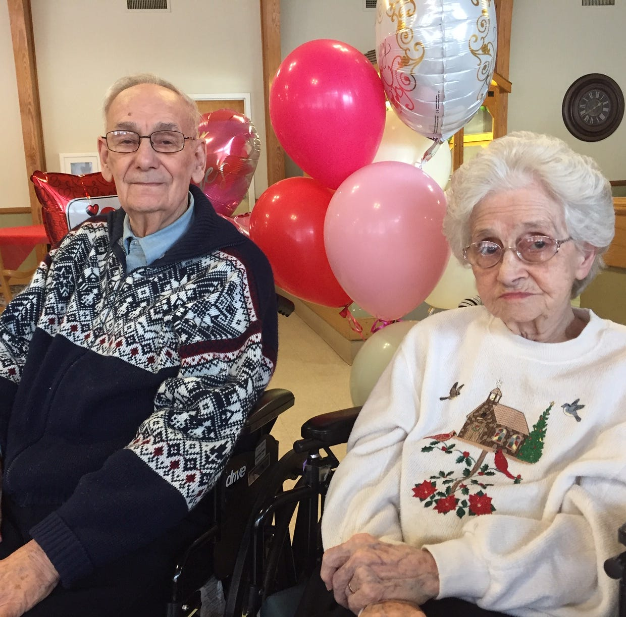 Couple celebrates 70 years of marriage