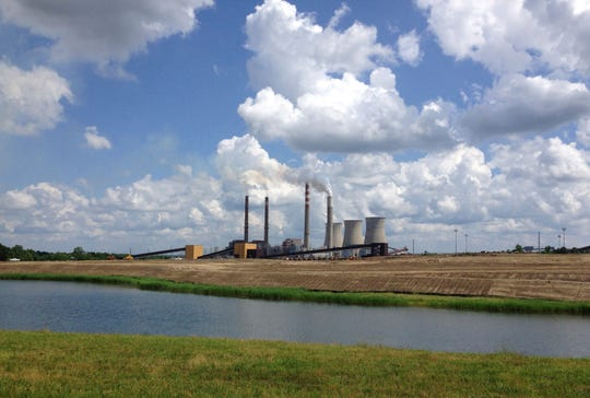 This June 3, 2014, file photo shows a panoramic view of the Paradise Fossil Plant in Drakesboro, Kentucky.