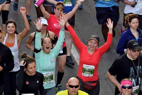 The Humana miniMarathon and Marathon are two of the Kentucky Derby Festival's most beloved happenings.