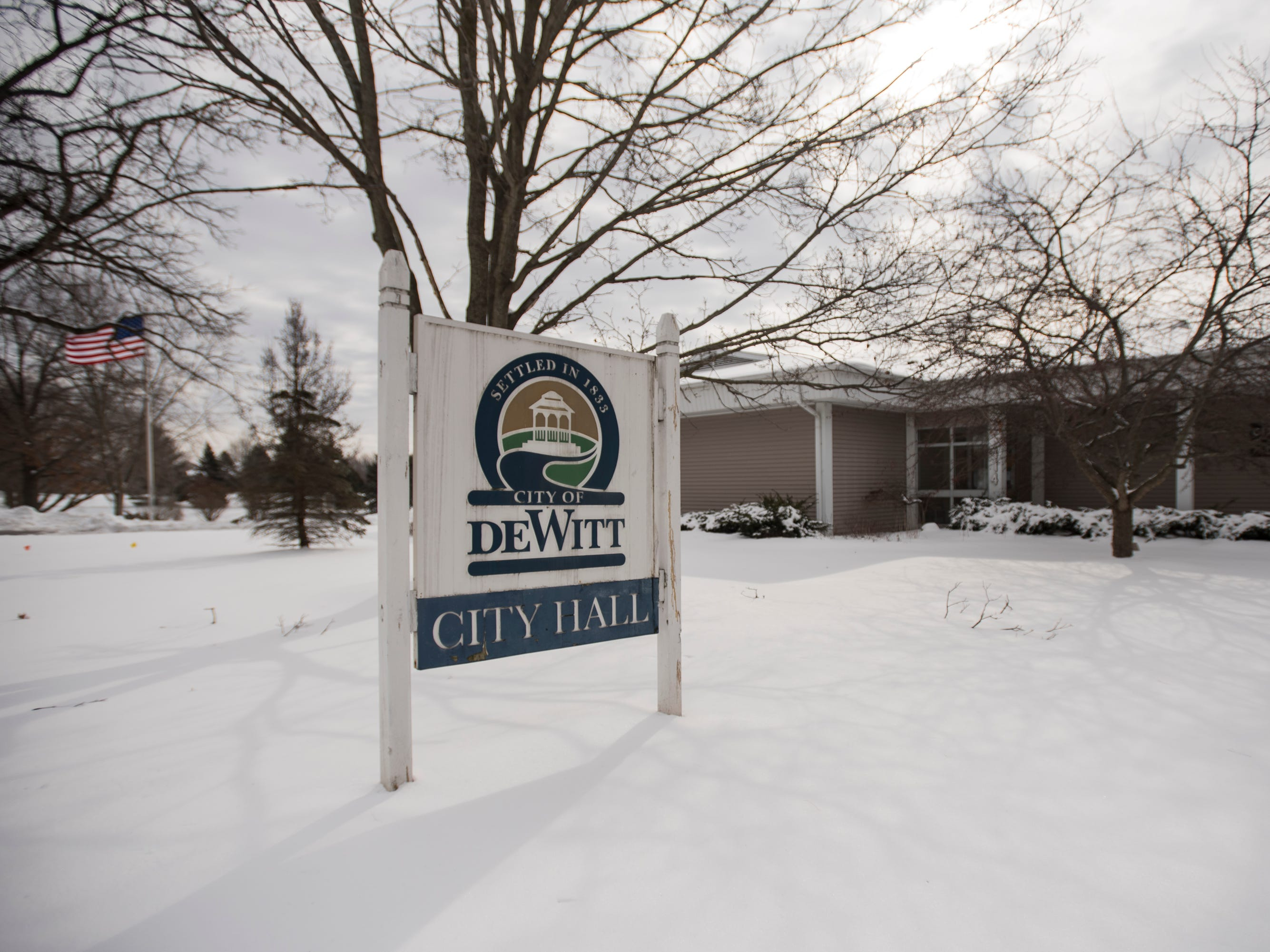Construction of new $2 million City Hall in DeWitt  to start in April
