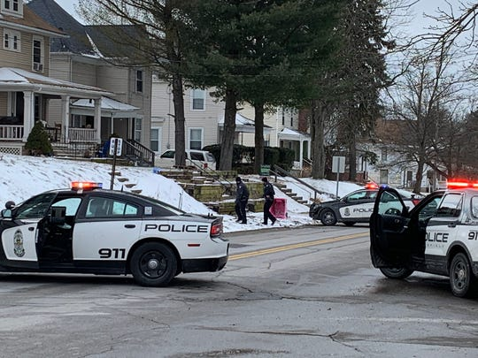 Police responded to a call from a distraught man Wednesday, February 13, 2019.