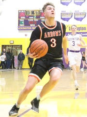 Ashland's Garrett Denbow was named the Division I District 6 Player of the Year.